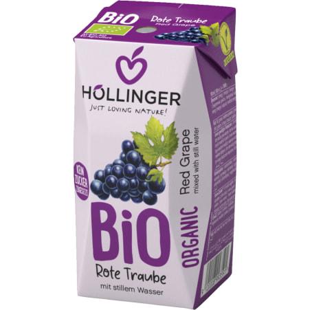 Höllinger Bio Rote Trauben 3x 0,2 Liter