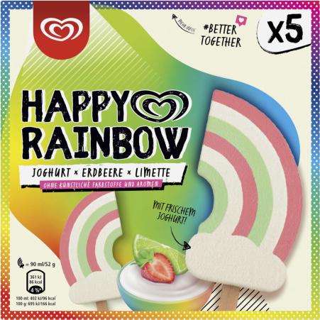 ESKIMO Happy Rainbow 5er-Packung