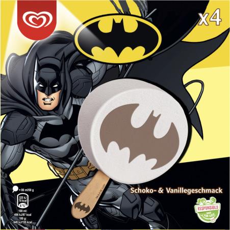 ESKIMO Batman Schoko Vanille 4er-Packung