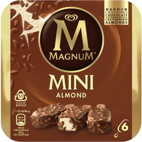 Magnum Magnum Mini Mandel 6er-Packung