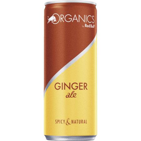 Red Bull Bio Organics Ginger Ale 0,25 Liter