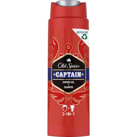 Old Spice 2 in 1 Captain Shower Gel