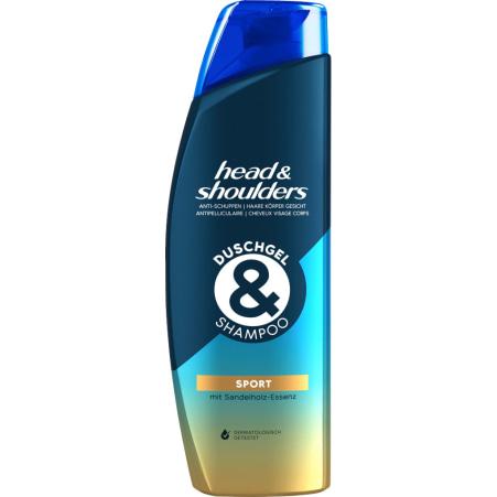 Head & Shoulders Duschgel & Shampoo Sport