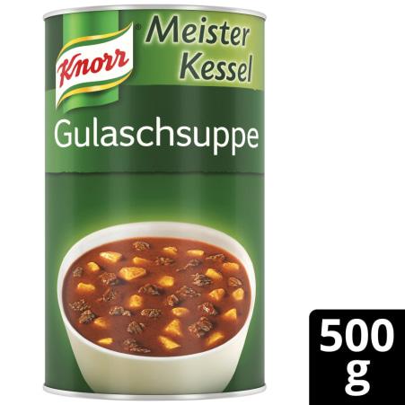 Knorr Meister Kessel Gulaschsuppe