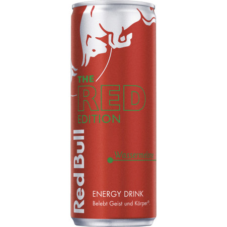 Red Bull The Red Edition Energy Drink Wassermelone 0,25 Liter Dose