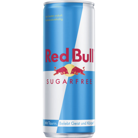 Red Bull Energy Drink Sugarfree Tray 24x 0,25 Liter Dose