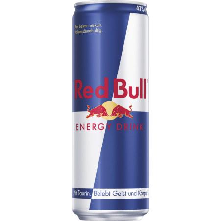 Red Bull Energy Drink 0,473 Liter Dose