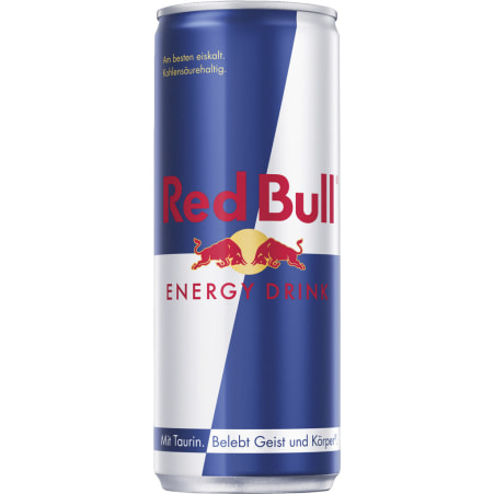 Red Bull Energy Drink Tray 24x 0,25 Liter Dose