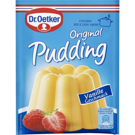 Dr. Oetker Vanillepudding Pulver 3er-Packung