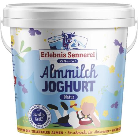 ErlebnisSennerei Zillertal Almmilch-Joghurt 1 kg