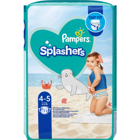 Pampers Splashers Schwimmwindeln 9-15kg