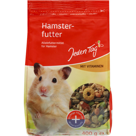 Jeden Tag Hamsterfutter