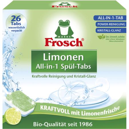 Frosch Limone 26 Geschirrspültabs