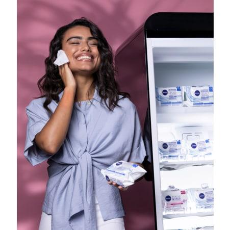 NIVEA Erfrischende Reinigungstücher