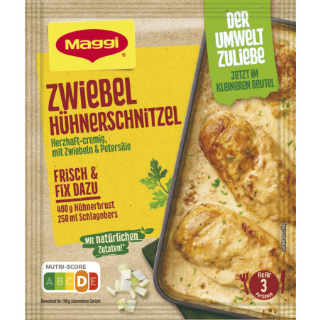 MAGGI Fix Zwiebel Hühnerschnitzel