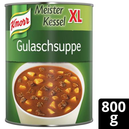 Knorr Meister Kessel XL Gulaschsuppe