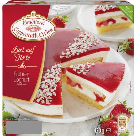 Conditorei Coppenrath & Wiese Lust auf Torte Erdbeer Joghurt