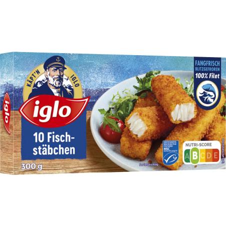 iglo Fischstäbchen MSC 10er-Packung