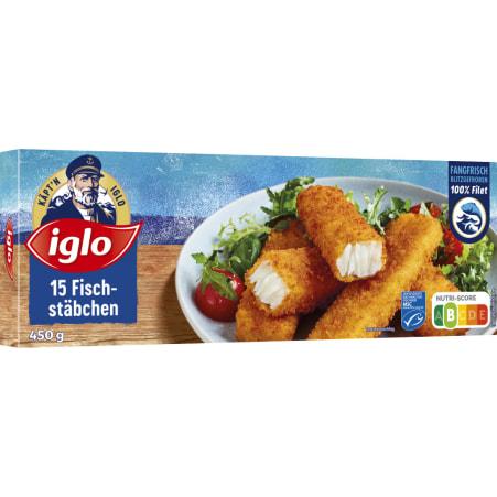 iglo Fischstäbchen MSC 15er-Packung