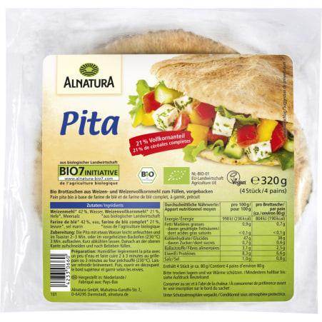 Alnatura Bio Pita 4er-Packung