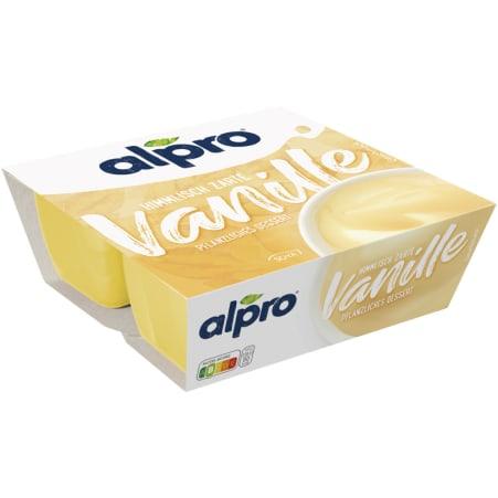 ALPRO Sojadessert Feine Vanille 4er-Packung
