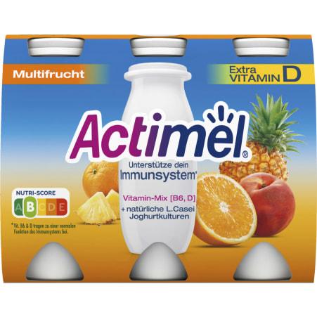 Danone Actimel Multifrucht 6er-Packung