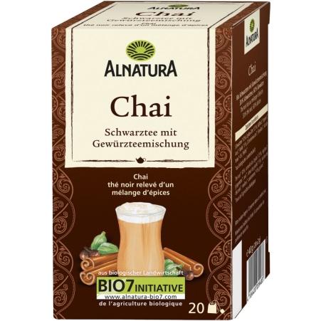 Alnatura Bio Chai Schwarztee mit Gewürzmischung