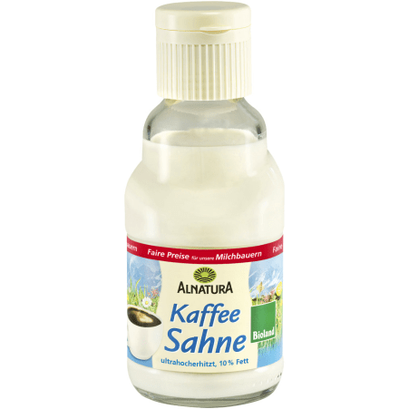 Alnatura Bio Kaffeesahne wärmebehandelt