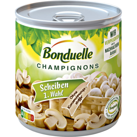 Bonduelle Champignons geschnitten 425 ml