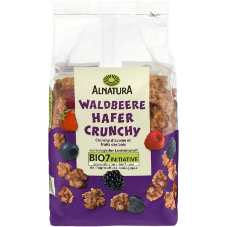 Alnatura Bio Hafer Crunchy Waldbeere