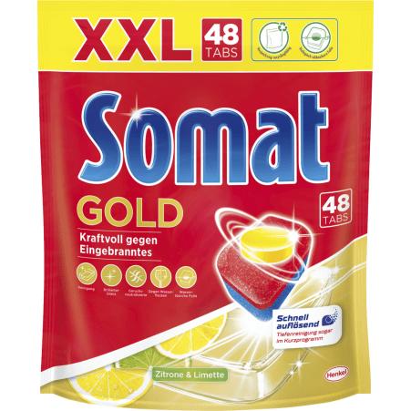 Somat Tabs Gold Zitrone&Limette 48er