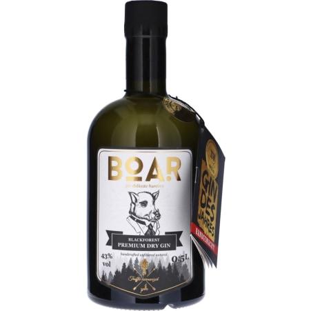 Boar Blackforest Premium Dry Gin 43%