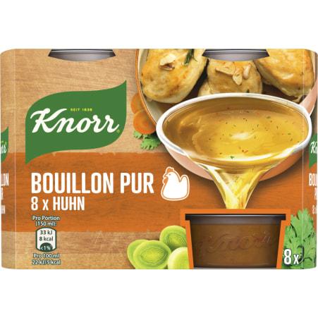 Knorr Bouillon Pur Gemüse Suppe