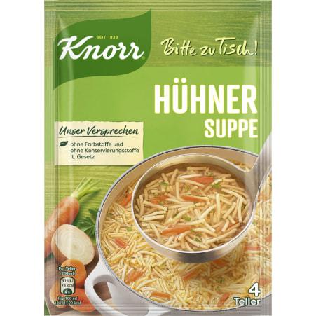 Knorr Bitte zu Tisch Hühnersuppe