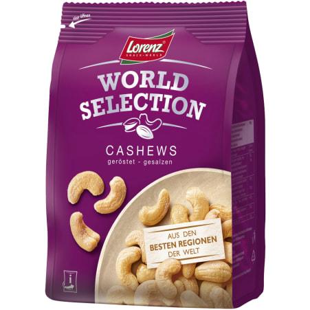 LORENZ CASHEWS Cashews geröstet & gesalzen
