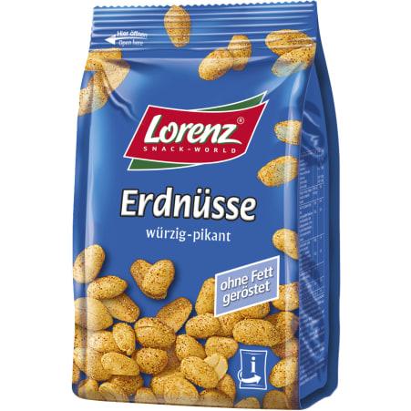 Lorenz Erdnüsse würzig-pikant