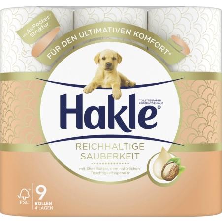 Hakle Toilettenpapier 9er-Packung 4-lagig