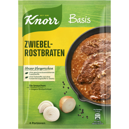 Knorr Basis Zwiebelrostbraten