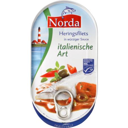 Norda Heringsfilets Italia Sauce