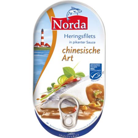 Norda Heringsfilets China Sauce