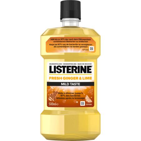 LISTERINE Mundspülung Ginger & Lime