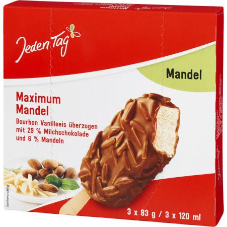 Jeden Tag Maximum Mandel 3er-Packung