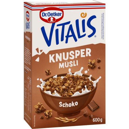 Dr. Oetker Vitalis Knuspermüsli Schokolade