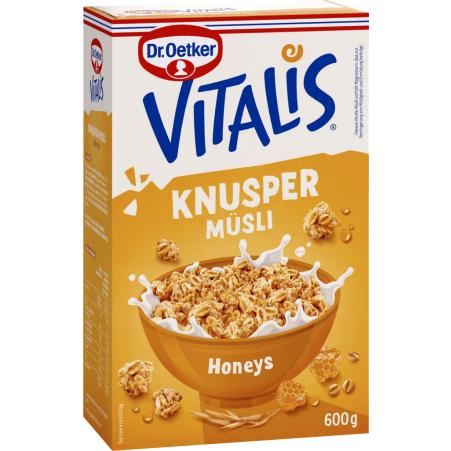 Dr. Oetker Vitalis Knusper Honeys
