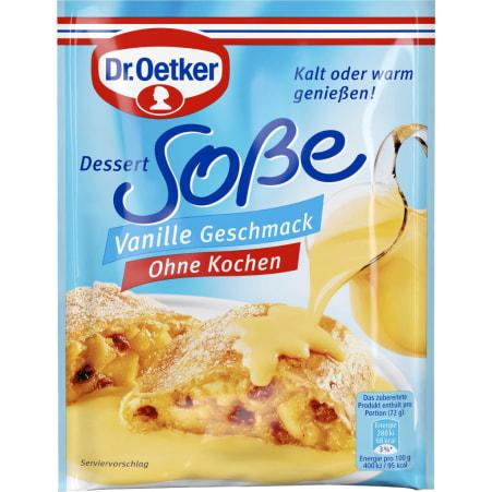 Dr. Oetker Dessertsauce Vanille ohne Kochen
