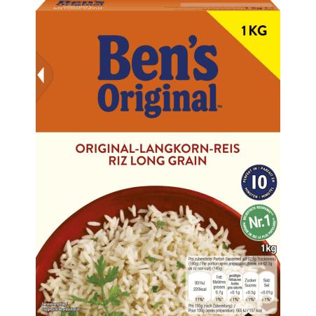 BEN'S ORIGINAL Spitzen-Langkorn-Reis 10 Minuten