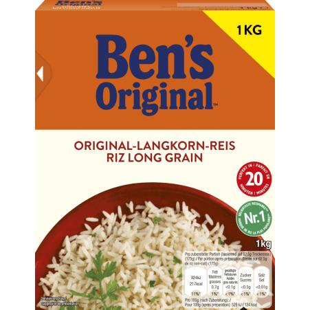 BEN'S ORIGINAL Spitzen-Langkorn-Reis 20 Minuten
