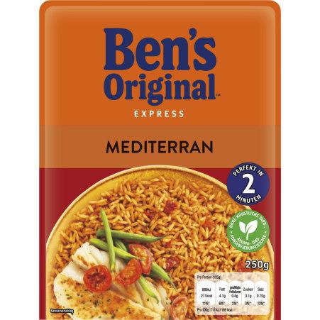 BEN'S ORIGINAL Express Mediterran 2 Minuten 250 gr