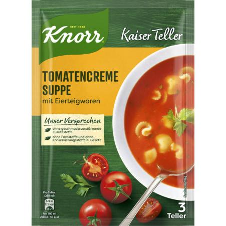 Knorr Kaiser Teller Tomatencremesuppe