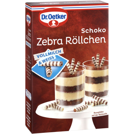 Dr. Oetker Schoko Zebra Röllchen